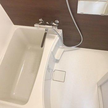十分な広さの浴室。