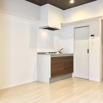 キッチン家電のスペースもありますね。