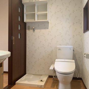 1階にもトイレがあります。(※写真は1階の反転間取り別部屋のものです)