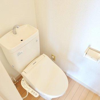 トイレもウォシュレット付きなのが良いですね!