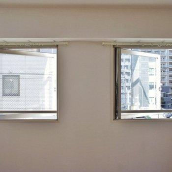 窓が多く風通し○