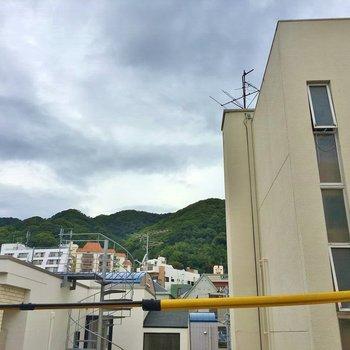 眺望は神戸の山♡