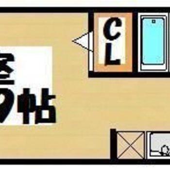 CLはウォークインクローゼット!