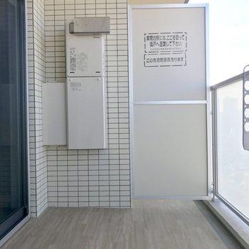 幅があるバルコニーだから洗濯物を干す際の態勢が楽◎(※写真は同間取り13階のものです)