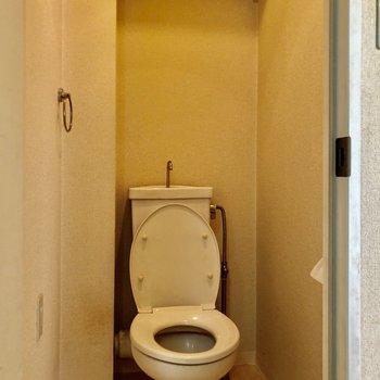 トイレもゆったりとしていますよ