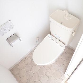 綺麗なトイレです。
