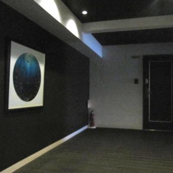 共用廊下は少し暗めですが雰囲気あるんです!