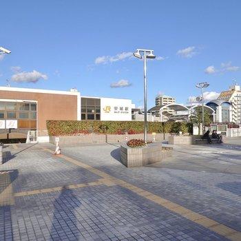最寄り駅はJR東海道本線の「安城」。駅周辺は施設が充実していて、便利に暮らせますよ。
