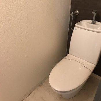 おトイレは落ち着く雰囲気