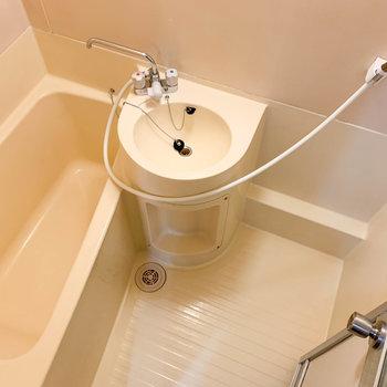 2点ユニットのお風呂です。
