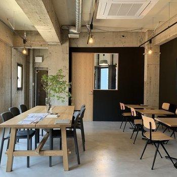 【写真はイメージです】カフェのような居心地の良いオフィス。コミュニケーションも生まれそう。