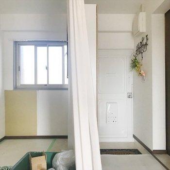 フリースペースは工事中です。※写真は3階同間取り・別部屋のものです。