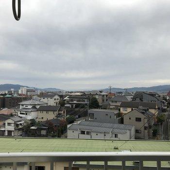 いい眺めだ〜(※写真は5階の別部屋からのものです)