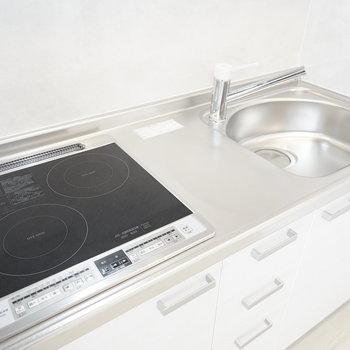 IHだと掃除も簡単だから料理する気になるな〜。