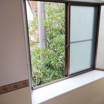 【東側洋室】出窓で植物を育ててもいいかも。