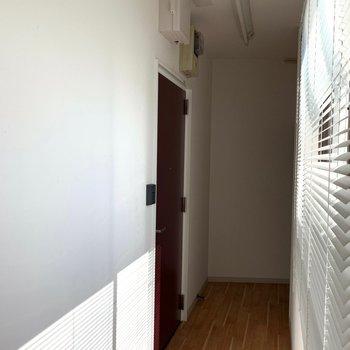 この階にはひと部屋しかないからフロア貸切
