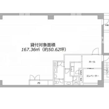 左は大きな開口部。L字の居室