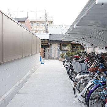 駐輪スペース その1