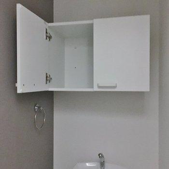 トイレの棚、めちゃくちゃ便利です◎
