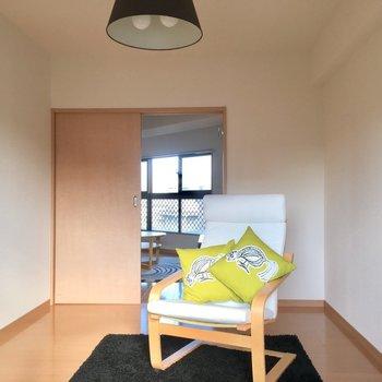 自分だけのスペース作り上げる(※写真は5階の同間取り別部屋、モデルルームのものです)