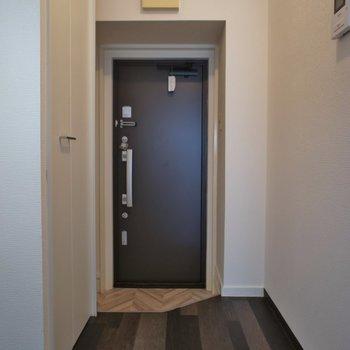こちらが玄関スペース