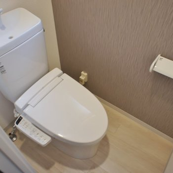 おトイレも清潔感バッチリ!