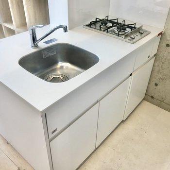 キッチンはゆったりとしたスペース