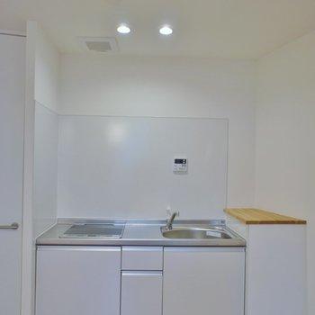 キッチンは2口※写真は同タイプの別室。