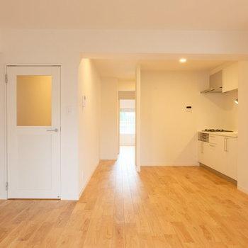 【完成イメージ】木のぬくもりがあるお部屋。