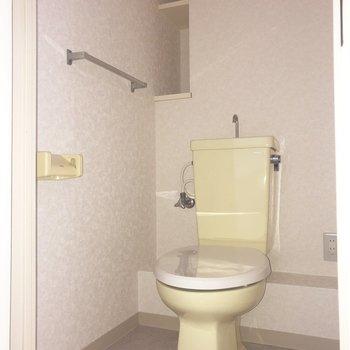 トイレも独立しています。