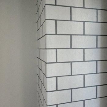 ブロックのようなクロスも立体あるんです。