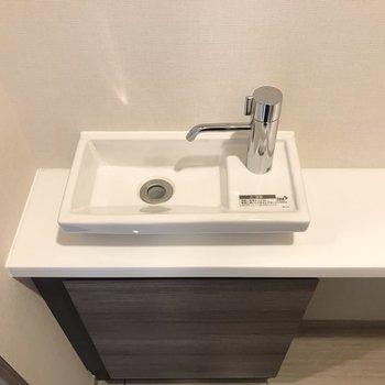 ちょっとした手洗い場が嬉しい