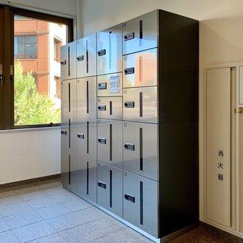 宅配ボックスはいざという時に頼りになります。※写真は前回募集時のものです