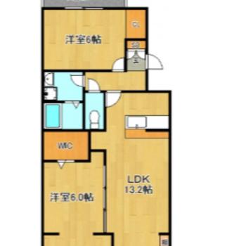 どのお部屋も広々ですね。