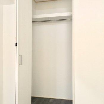 洋室②】各部屋にあるので、分けることも可能。