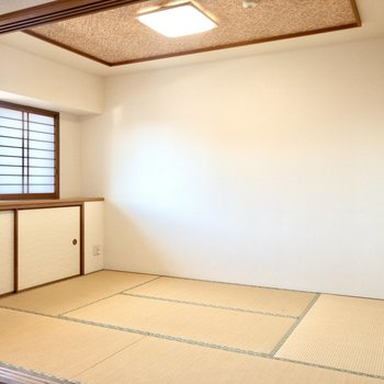 【和室】ゆったりくつろぎスペースに良さそうな和室。