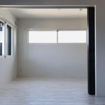 全体的に白で統一 シンプル落ち着く※写真は同間取り別部屋
