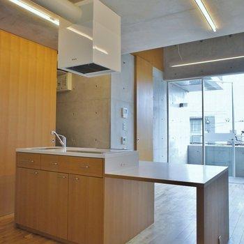 他にはないキッチン※写真は別室です。