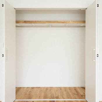 【完成イメージ】寝室の収納も新たに設置◎