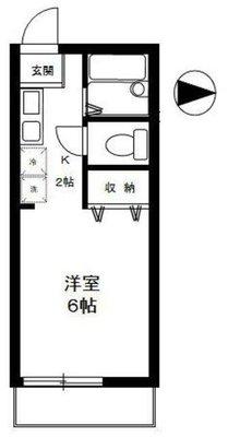 ジベ成城2 の間取り