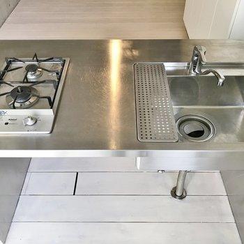 調理スペースもばっちり◎※写真は同タイプの別室。