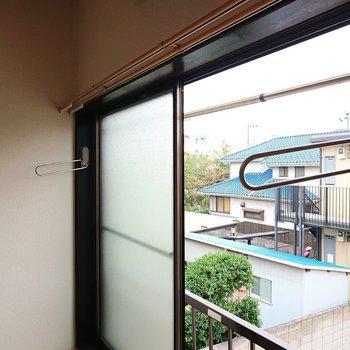 雨の時は、部屋干しできる作りになっているのがいいですね。※写真は2階の反転間取り別部屋のものです