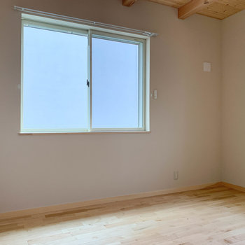 【洋室6.1帖】こちらの洋室はエアコン未設置です。(設置は可能です)