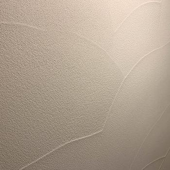 壁の手塗りの感じも素敵なのです。
