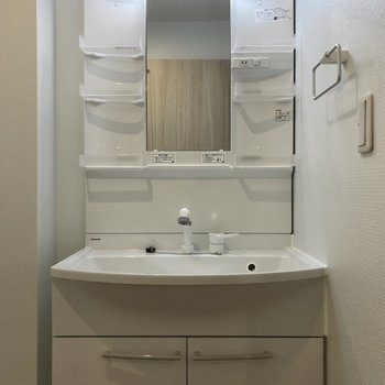 手前には独立洗面台があります。