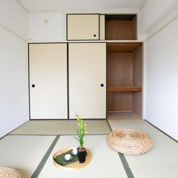 このお部屋も明るくていいですね!収納もたっぷり※写真は同間取りのモデルルームです