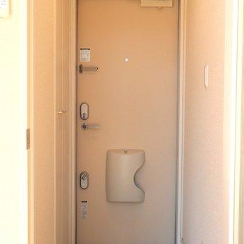 重量感のある玄関