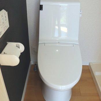 ゆったりできるトイレ