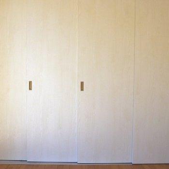 キッチンを隠せる引き戸