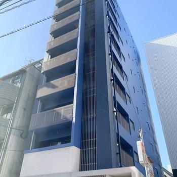 10階縦のマンション!今回のお部屋は7階です。